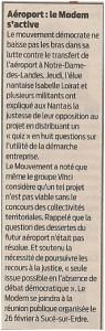 Article de Presse Ocean le 13-02-2011
