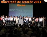 Université de rentrée MoDem 2011